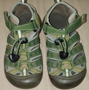 Keen Kids Green Waterproof Sandals Size 12